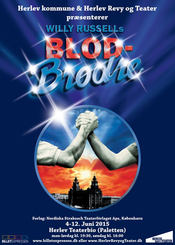 Blood Brothers plakat